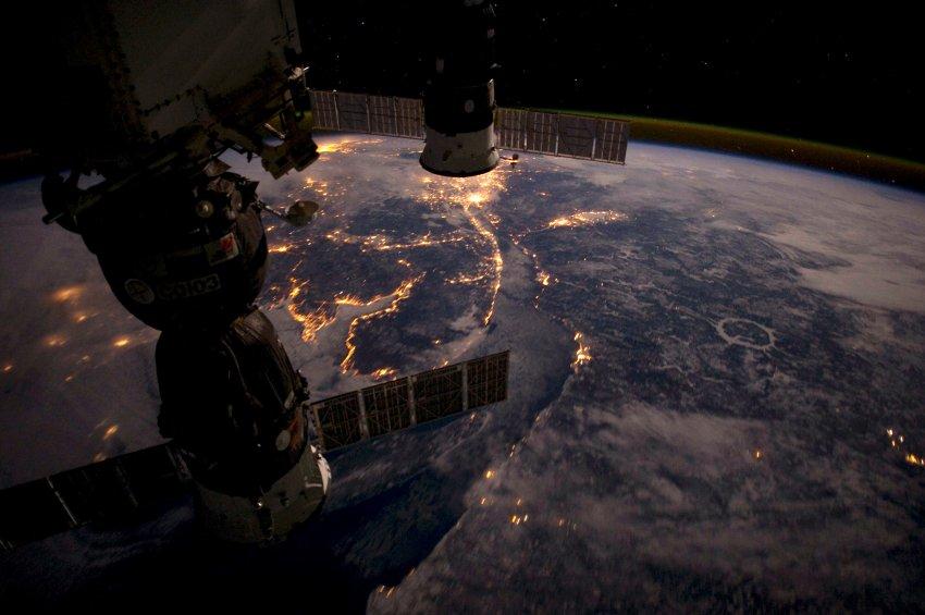 NASA / Pettit / ISS Fotos aus dem All