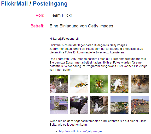 Flickr-Getty-Images-Einladung