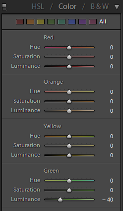Lightroom-Color-Luminance