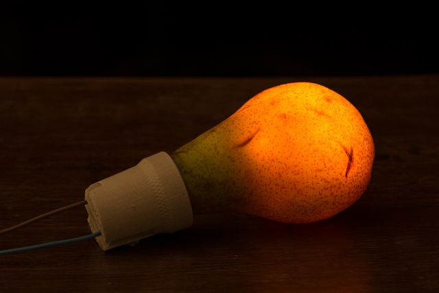 Pear-light-bulb