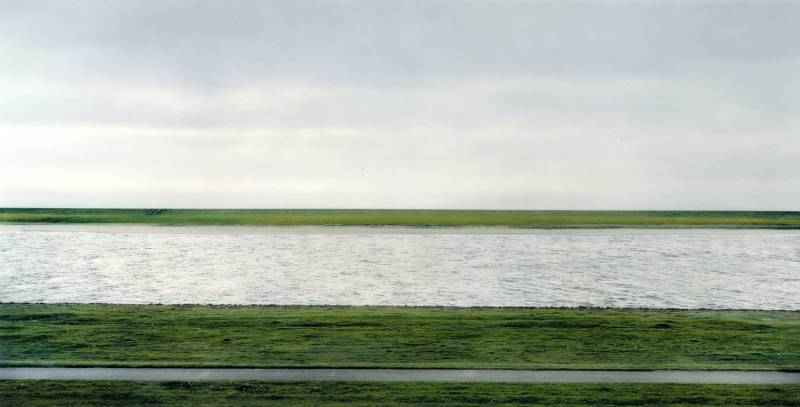 The Rhine II 1999 by Andreas Gursky born 1955