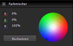 Farbmischer-Blaukanal