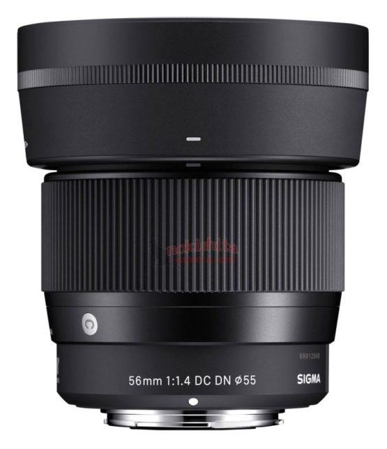 Sigma-56mm-f1.4-e-mount